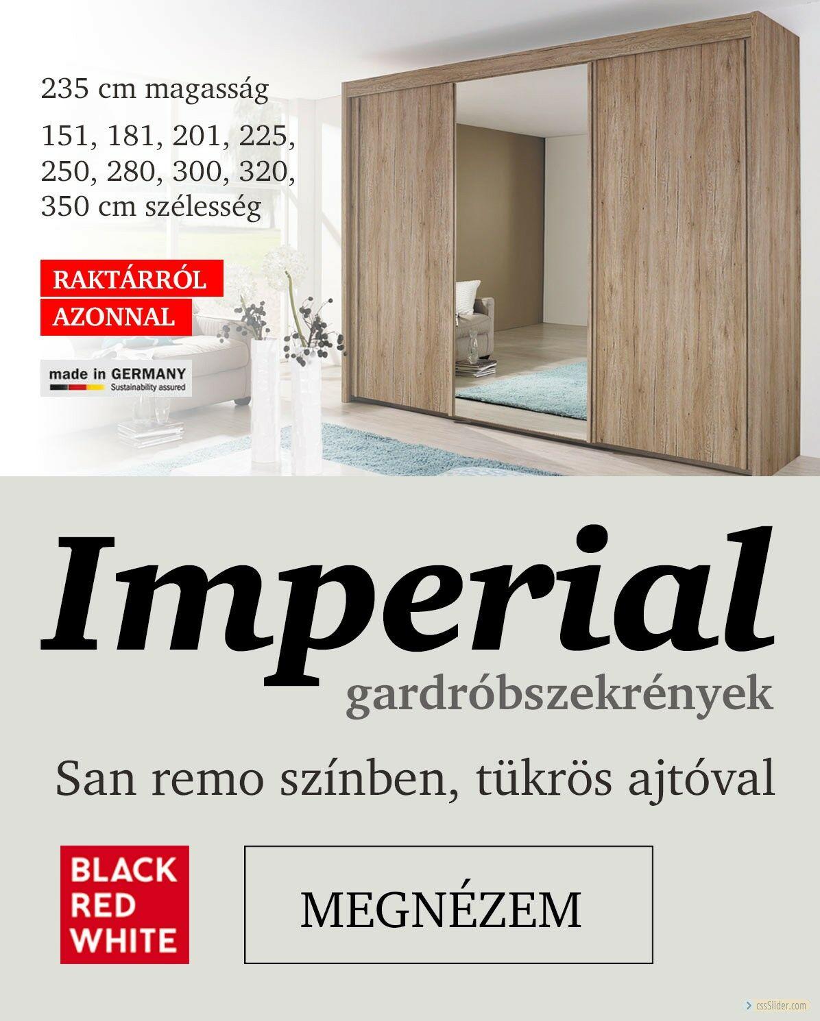 Imperial gardróbszekrények