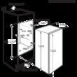 Electrolux ERN2001BOW beépíthető hűtőgép