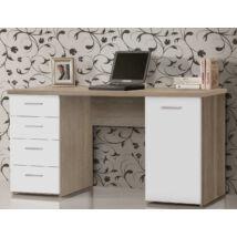 MT926-Q36 íróasztal 1 ajtós 4 fiókos