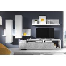 Bota nappali összeállítás fehér-beton