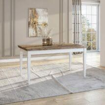 Evora asztal hosszabbítható fehér