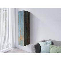 Vento faliszekrény álló 1 ajtós festett metál