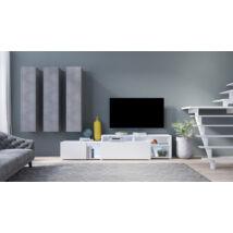 Vento nappali összeállítás beton-fehér 10