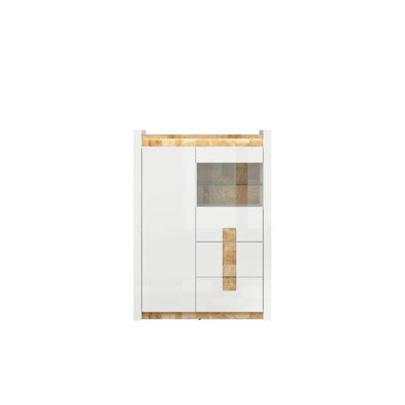 Alameda vitrin 2 ajtós (1 vitrines) 2 fiókos