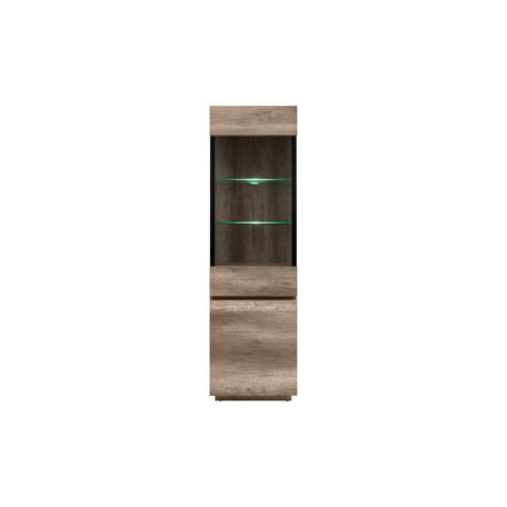 Anticca vitrin 2 ajtós (1 vitrines) 60 cm
