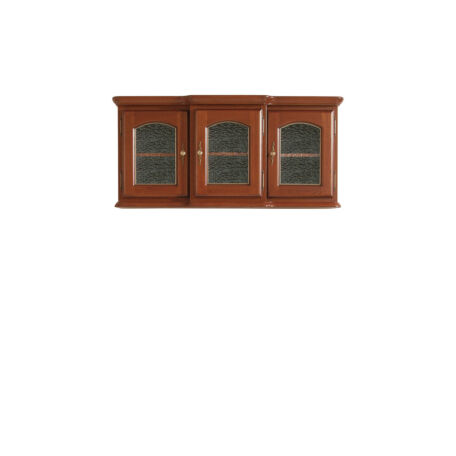 Bawaria vitrin 3 ajtós 65 cm magas