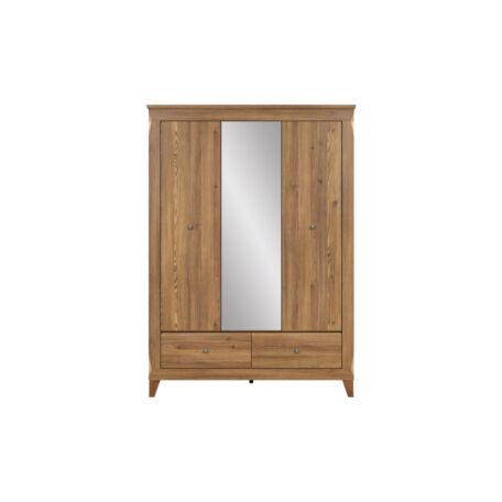 Bergen szekrény 3 ajtós tükrös