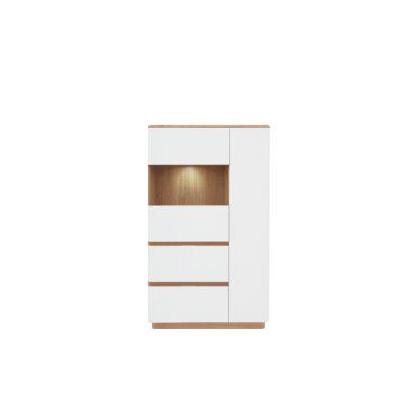 Braga vitrin 2 ajtós (1 vitrines) 2 fiókos