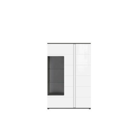 Graphic vitrin 2 ajtós (1 vitrines)