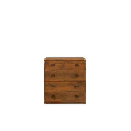 Indiana komód 4 fiókos 80 cm
