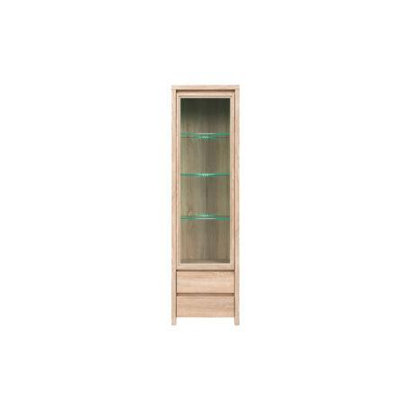 Kaspian vitrin 1 ajtós (vitrines) 2 fiókos