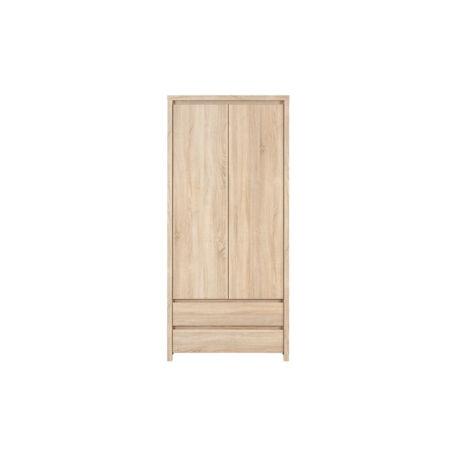 Kaspian szekrény 2 ajtós 2 fiókos