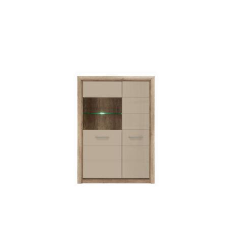 Koen2 vitrin 2 ajtós (1 vitrines) 143