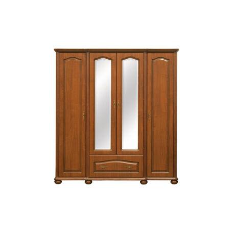 Natalia tükrös szekrény 4 ajtós 1 fiókos