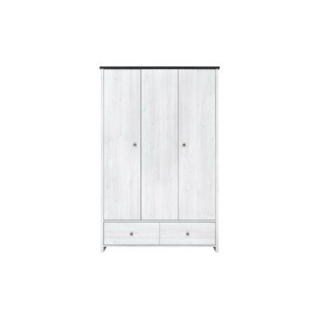 Porto szekrény 3 ajtós 2 fiókos