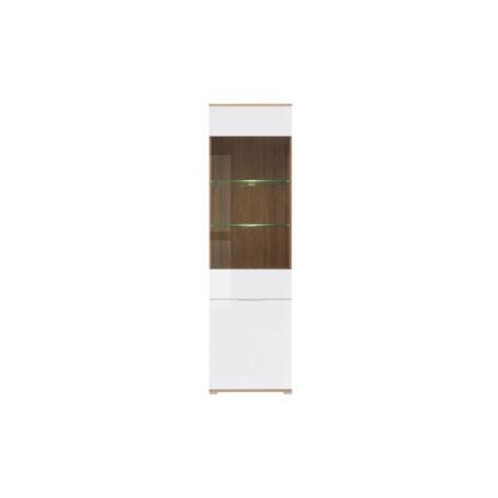 Zele vitrin 2 ajtós (1 vitrines) 56 cm