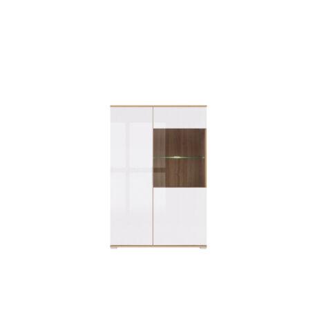 Zele vitrin 2 ajtós (1 vitrines) 90 cm