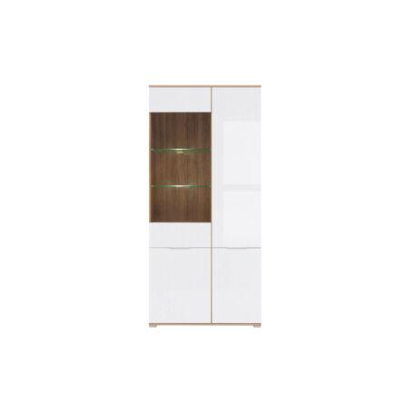 Zele vitrin 4 ajtós (1 vitrines)