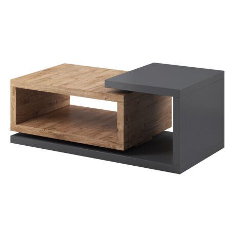 Bota asztal antracit-ribbec tölgy