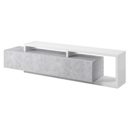 Bota TV-szekrény fehér-beton