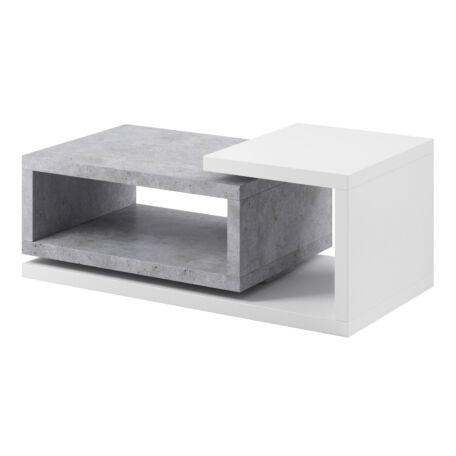 Bota asztal fehér-beton