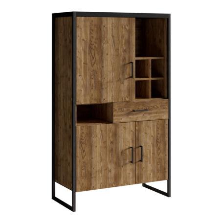 Tarabo kis könyvespolc 3 ajtós 1 fiókos