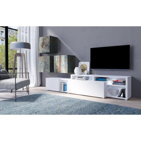 Vento nappali összeállítás festett metál-fehér 09