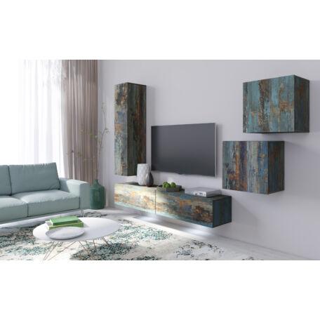 Vento nappali összeállítás festett metál-fehér 11