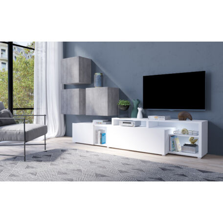 Vento nappali összeállítás beton-fehér 09